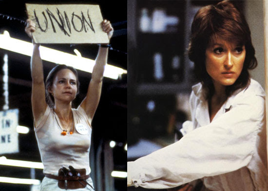 Norma Rae | Karen Silkwood | Tacky Harper's Cryptic Clues
