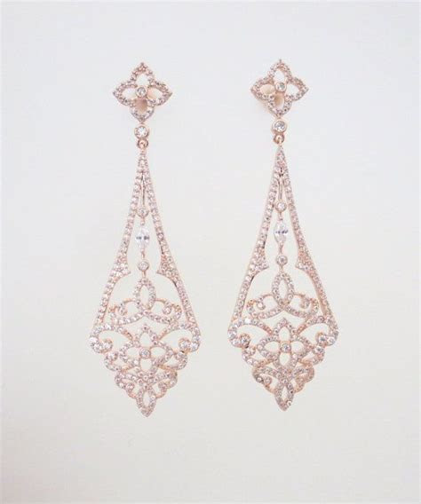 Best 25  Gold chandelier earrings ideas on Pinterest