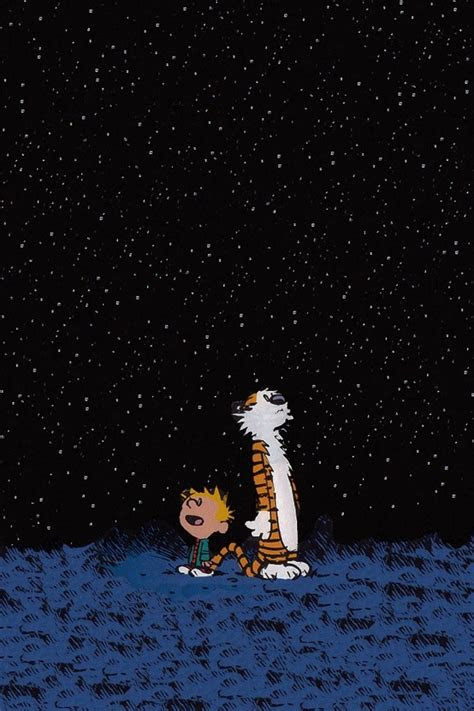 calvin  hobbes iphone wallpaper wallpapersafari