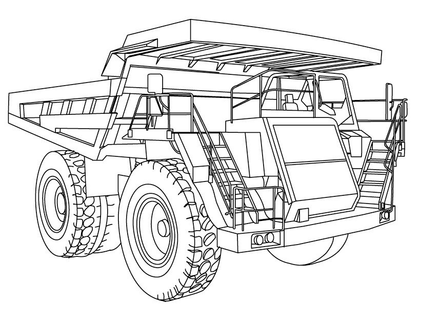 Coloriage Tracteur John Deere Avec Remorque - Coloriage Ideas
