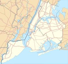 Tượng Nữ thần Tự do trên bản đồ New York City