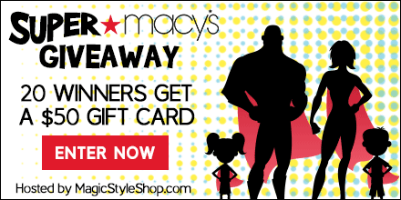 Macy's $1,000 Gift Card Giveaway. Ends 2/26