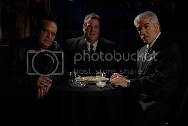 Frank Vincent, Mike Starr and Danny Goldring star in Chicago Overcoat