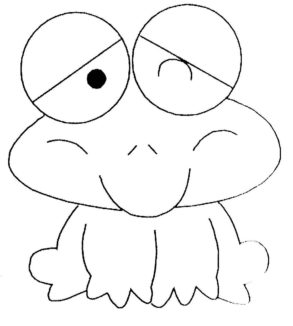 Coloriage de grenouille