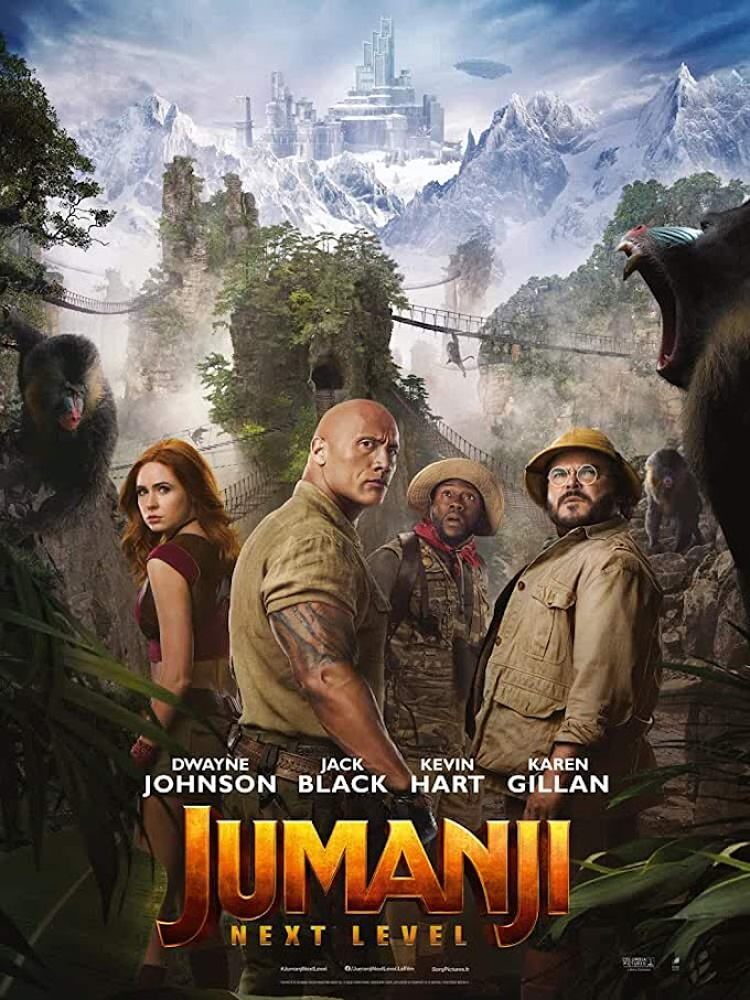 Jumanji: The Next Level (2019) English 720p HDCAM Full Hollywood Movie Download