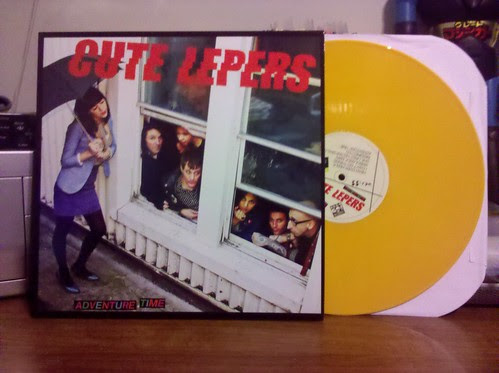 Cute Lepers - Adventure Time LP - Yellow Vinyl /200