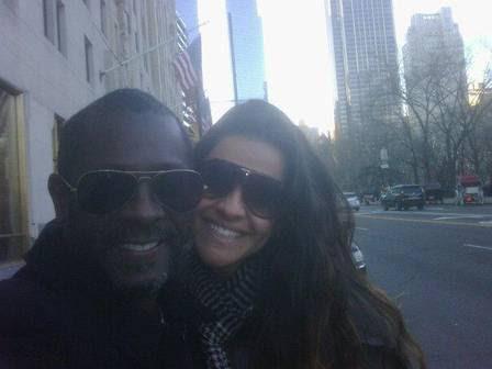 Danielle Favatto, ex-mulher de Romário, está namorando o cantor gospel Kleber Lucas