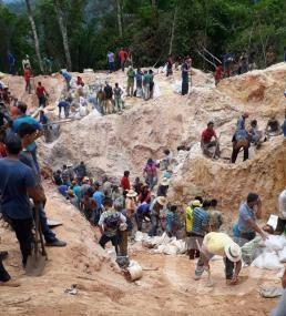 Garimpo ilegal em Aripuanã é destaque no Domingo Espetacular