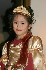 Sophia as a Rose Princess