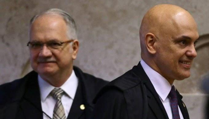 Após Fachin votar contra bloqueio de WhatsApp por juízes, Moraes pede vista e julgamento é suspenso