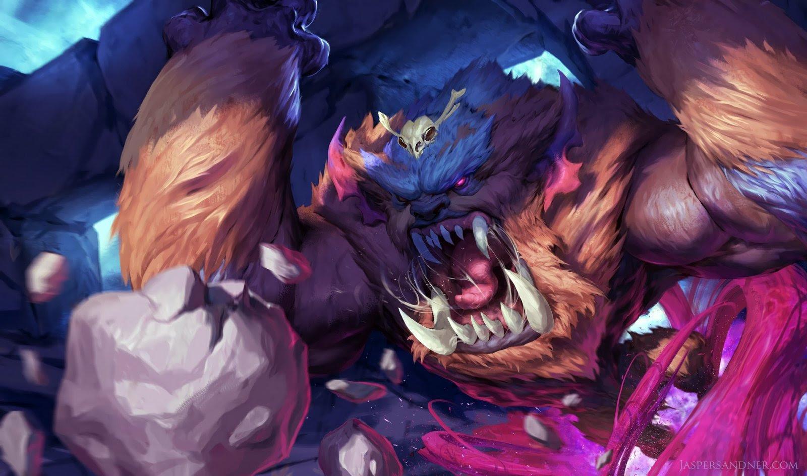 Mega Gnar Wallpapers Fan Arts League Of Legends Lol Stats