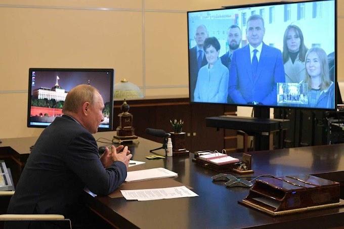 Встреча в неформальном ключе: о чем говорили Путин и Дюмин