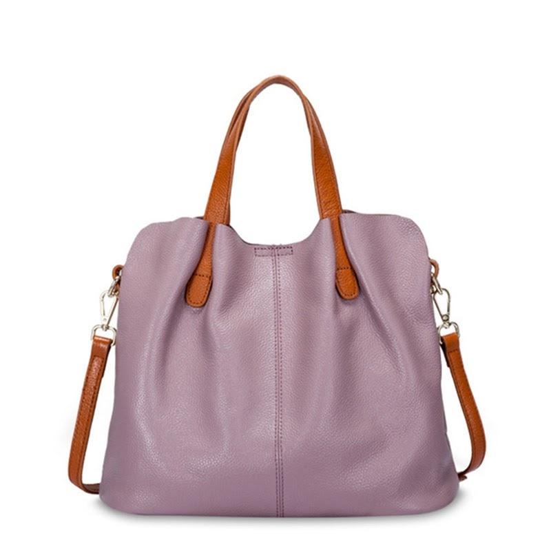 Discount Fashion Genuine Leather Women bag women's handbag Shoulder lady's messenger bag luxury Designer crossbody bags for women ToteS