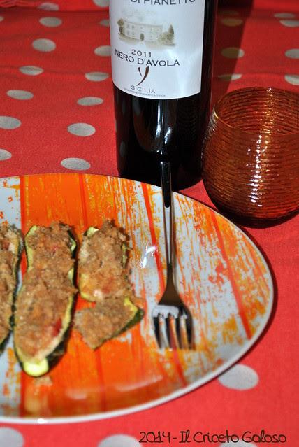 Zucchine ripiene di tonno (2)