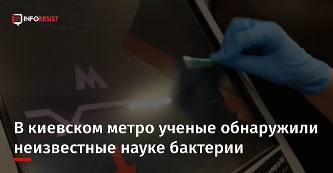 В киевском метро ученые обнаружили неизвестные науке бактерии