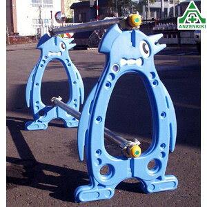 かわいいね!【ペンギンパレードポールセット品】駐車場の仕切りや迷惑駐車対策に
