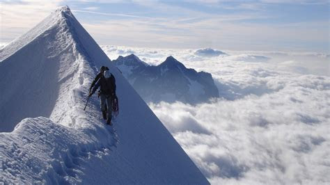 Mountain Climbing Wallpaper