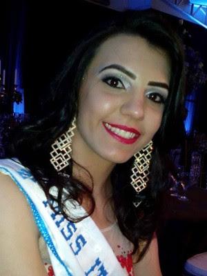Flávia Trentin, que já foi Miss Itaipulândia, está bem e em observação (Foto: Reprodução / Facebook)