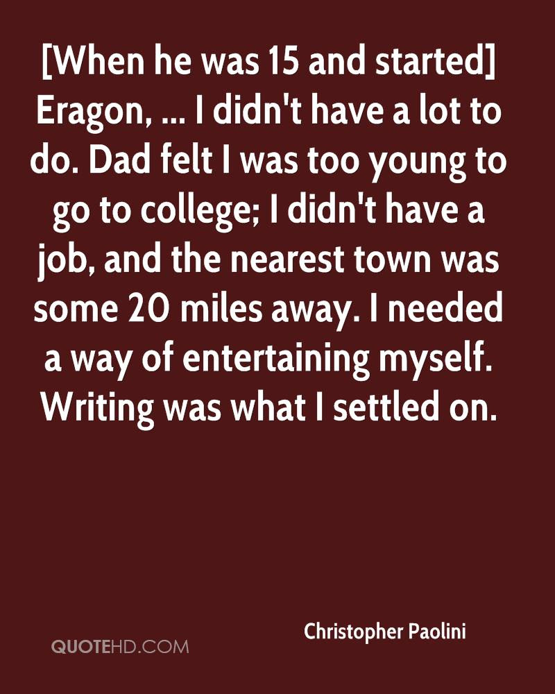 Christopher Paolini Quotes Quotehd