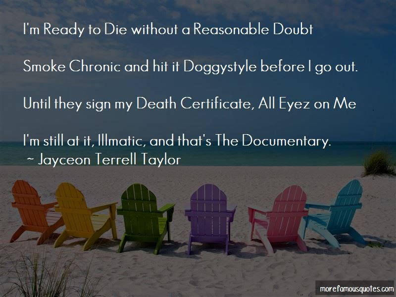 Im Ready To Die Quotes Top 49 Quotes About Im Ready To Die From