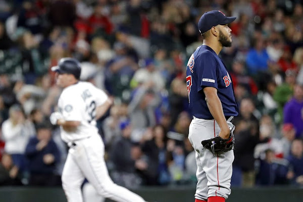 2518010d618 Red Sox rally falls short in Seattle