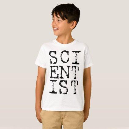 Scientist Kids Shirt