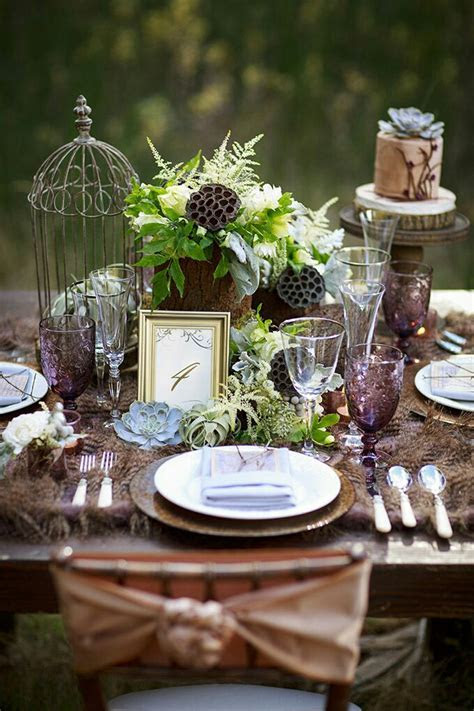 Romantic Enchanted Forest Wedding!   Upon An Occasion