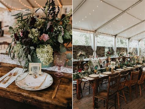 A Vintage Garden Party Wedding in a Botanical Garden
