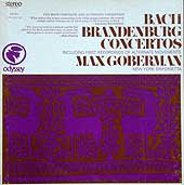Max Goberman conducts the New York Sinfonietta (Odyssey LP box set cover)