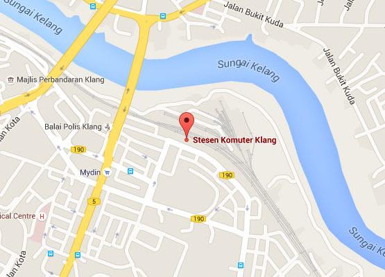 Klang KTM Komuter station  Malaysia Airport KLIA2 info