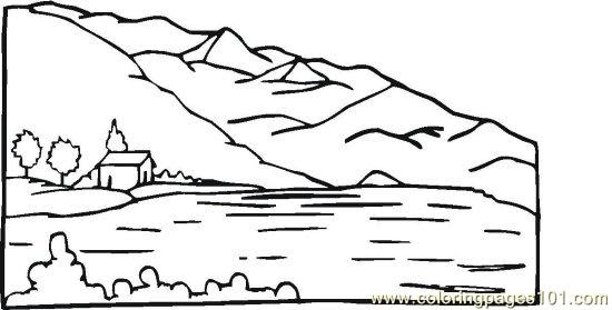 Pondriverlake (5) Coloring Page - Free Seasons Coloring ...