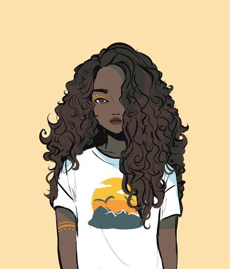 ezola hair flow art drawing inspiration