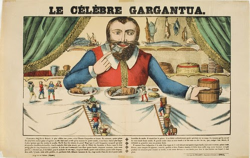 The Celebrated Gargantua (c. 1840)