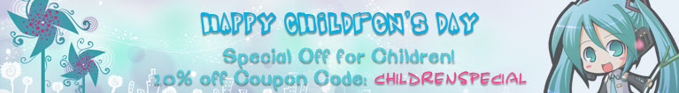 2013 Children's Day-10% off