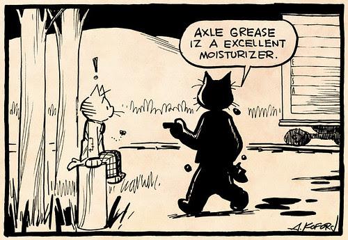 Laugh-Out-Loud Cats #2445 by Ape Lad