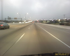 I-35 in the morning