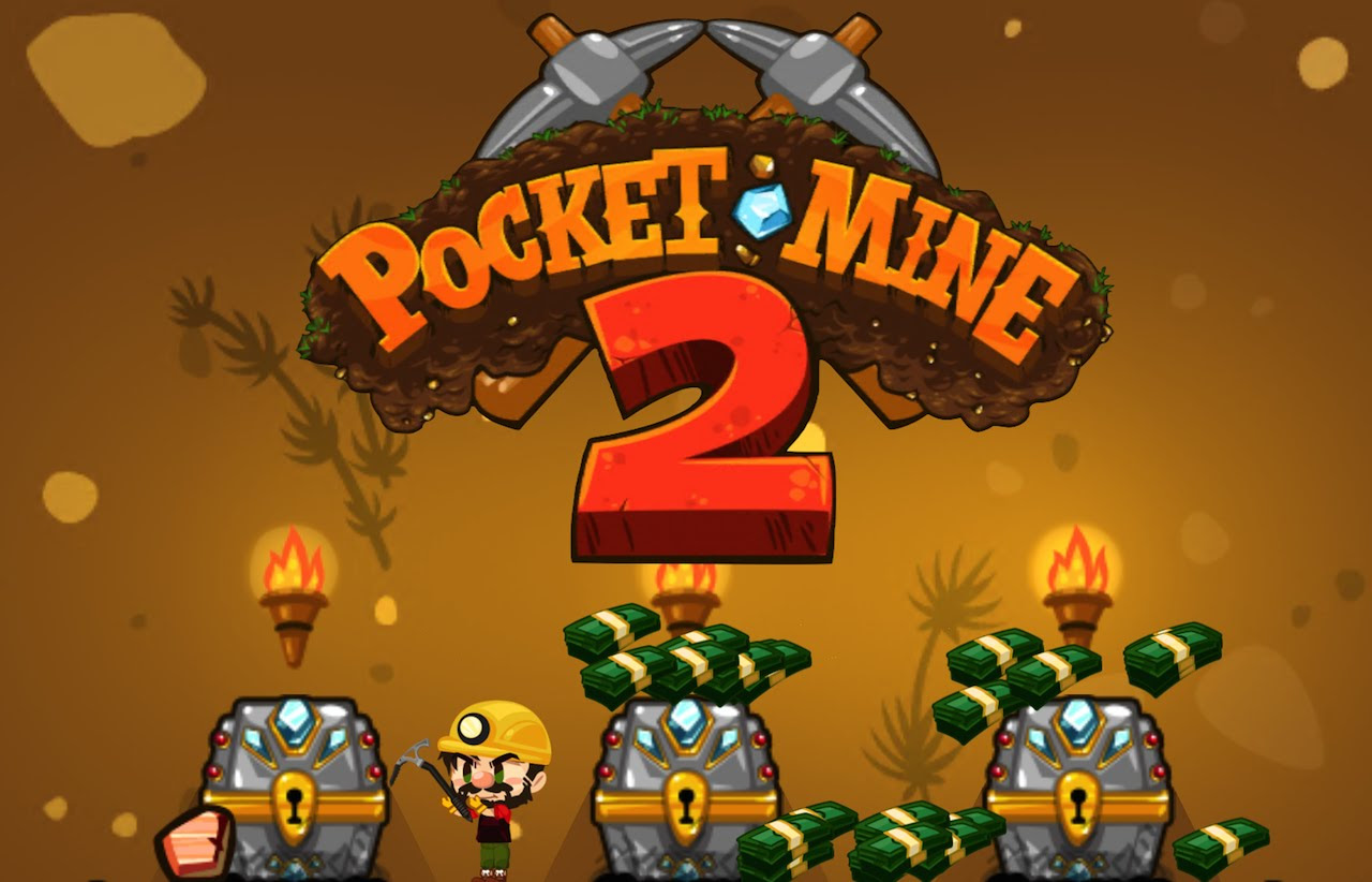 Pocket Mine 2 v3.7.0.58 Apk Mod [Money]