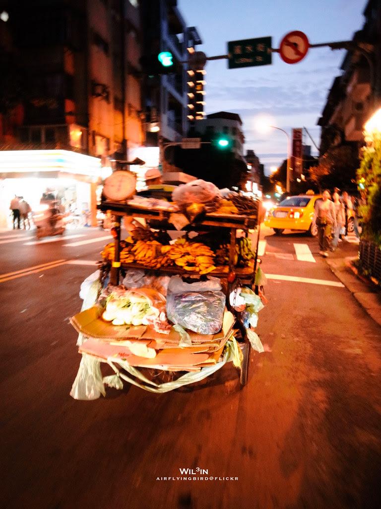 賣菜的三輪車