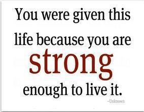 Stamping With Judy Motivational Monday You Have Strength You Did