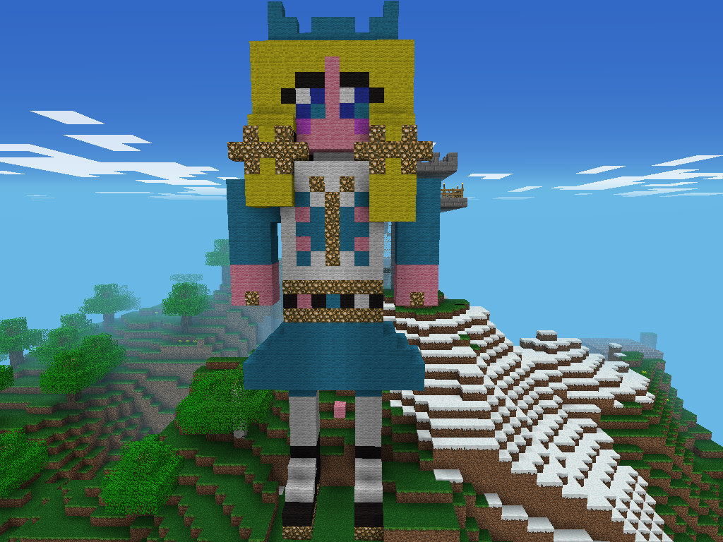 Cute girl Statue - MCPE: Show Your Creation - Minecraft ...