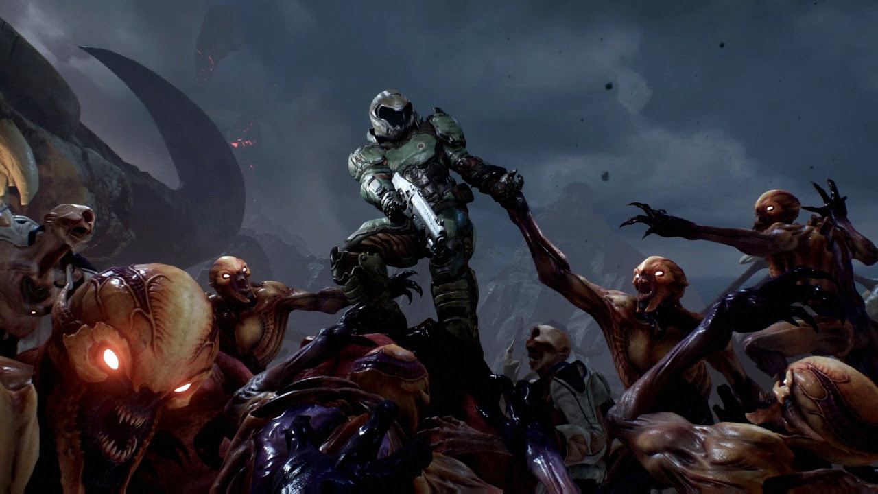 Doom is free on PS4 this weekend screenshot