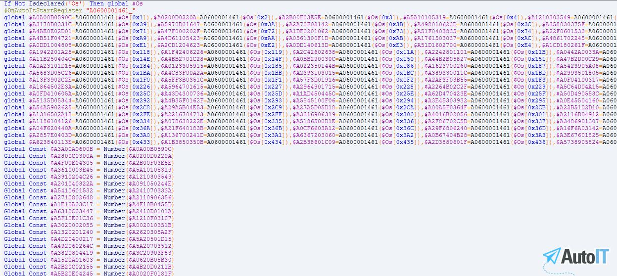Obfuscator 2.1 - Bảo vệ mã nguồn AutoIt