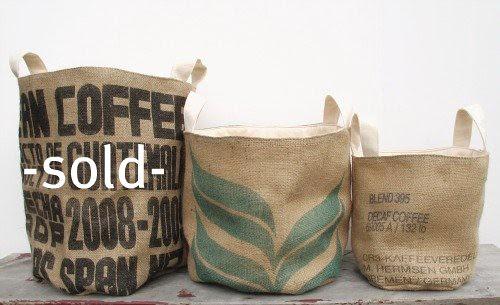 buckets in a row