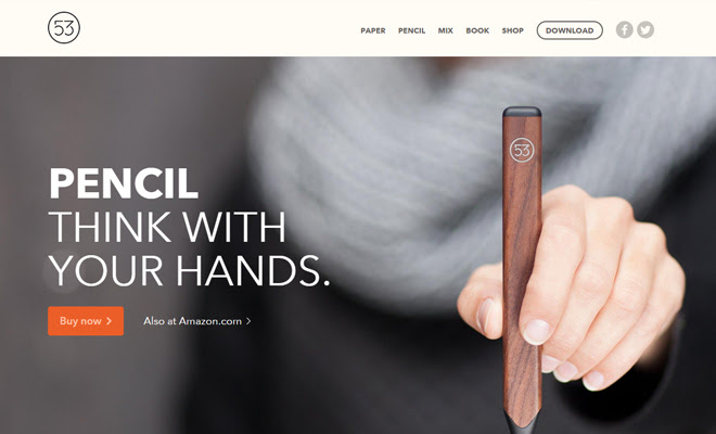 fiftythree ecommerce shop pencil store