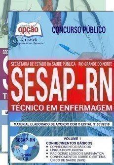 Apostila TÉCNICO EM ENFERMAGEM Sesap-RN