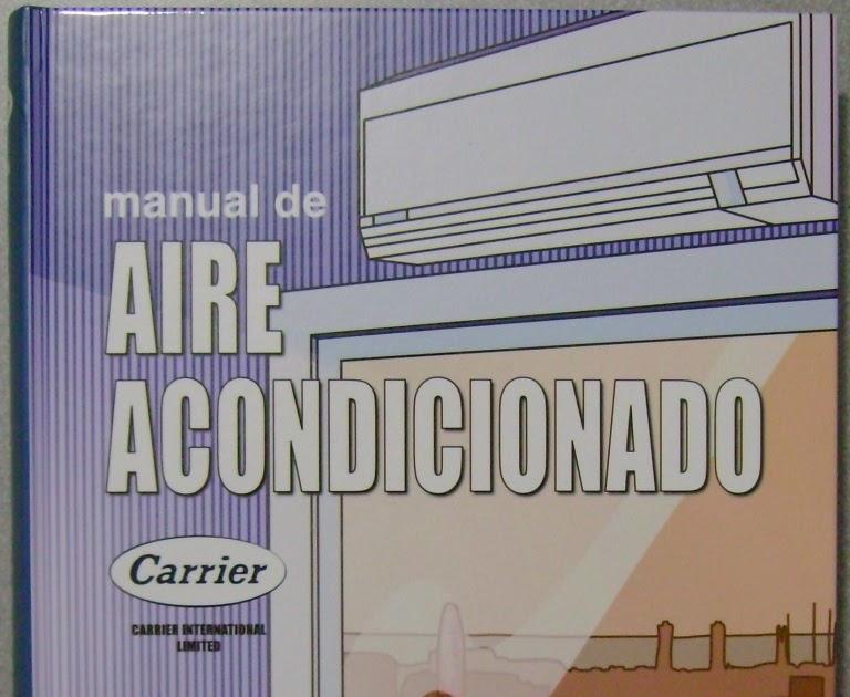 manual de aire acondicionado carrier ForManual Aire Acondicionado