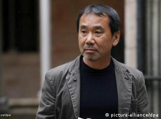 epa02771526 Japanese writer Haruki Murakami is seen shortly before addressing a press conference in Barcelona, northeastern Spain, 08 June 2011. Murakami will receive the Haruki Murakami to receive 23th Catalunya International Award which will be given by Catalonia's Regional Government on 09 June 2011. The award consists of a sculpture by Spanish sculptor Antoni Tapies's and a cash prize of 80,000 euro. EPA/JORDI BEDMAR / POOL