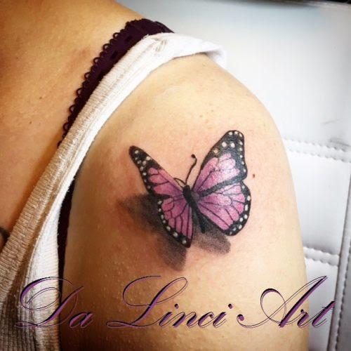 74 Tattoo Tribal Vlinder