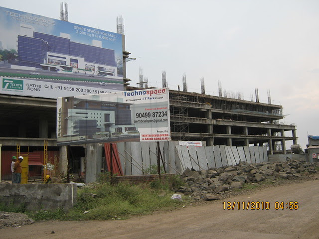 Teerth Realties' Technospace Software Park, next to Mercedes Showroom, on the way to Teerth Towers, Baner Sus, Pune