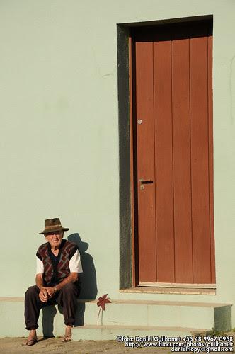 Seu Manoel Anselmo Cardoso - 85 - Sambaqui - Florianopolis